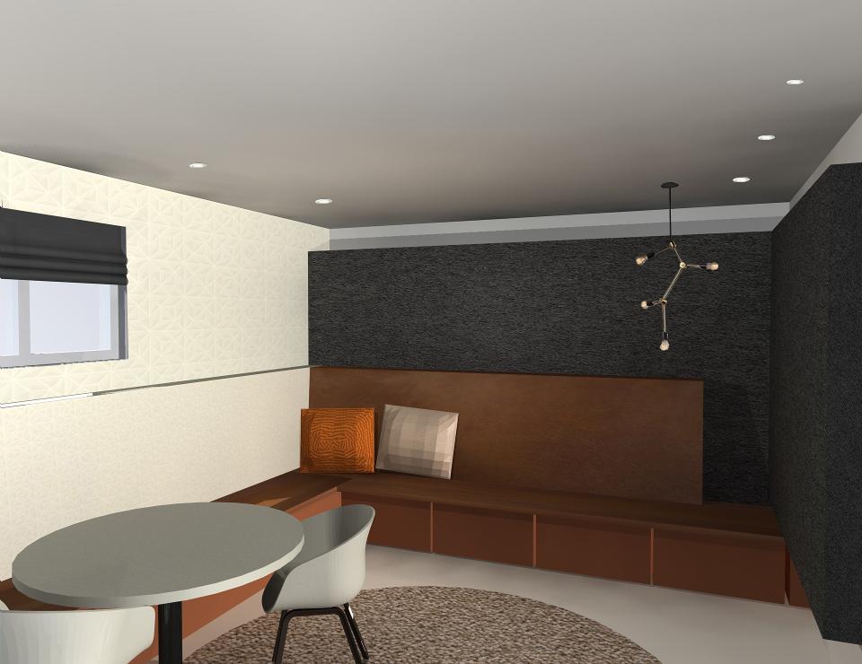 Interieurontwerp – Loungeruimte