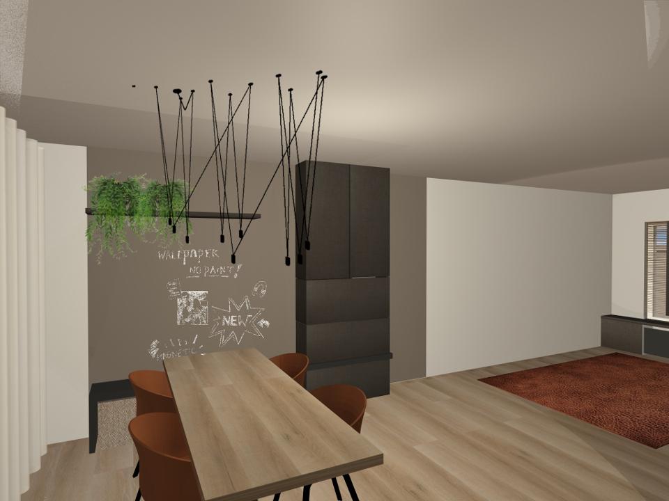Interieurontwerp – Woning Geleen