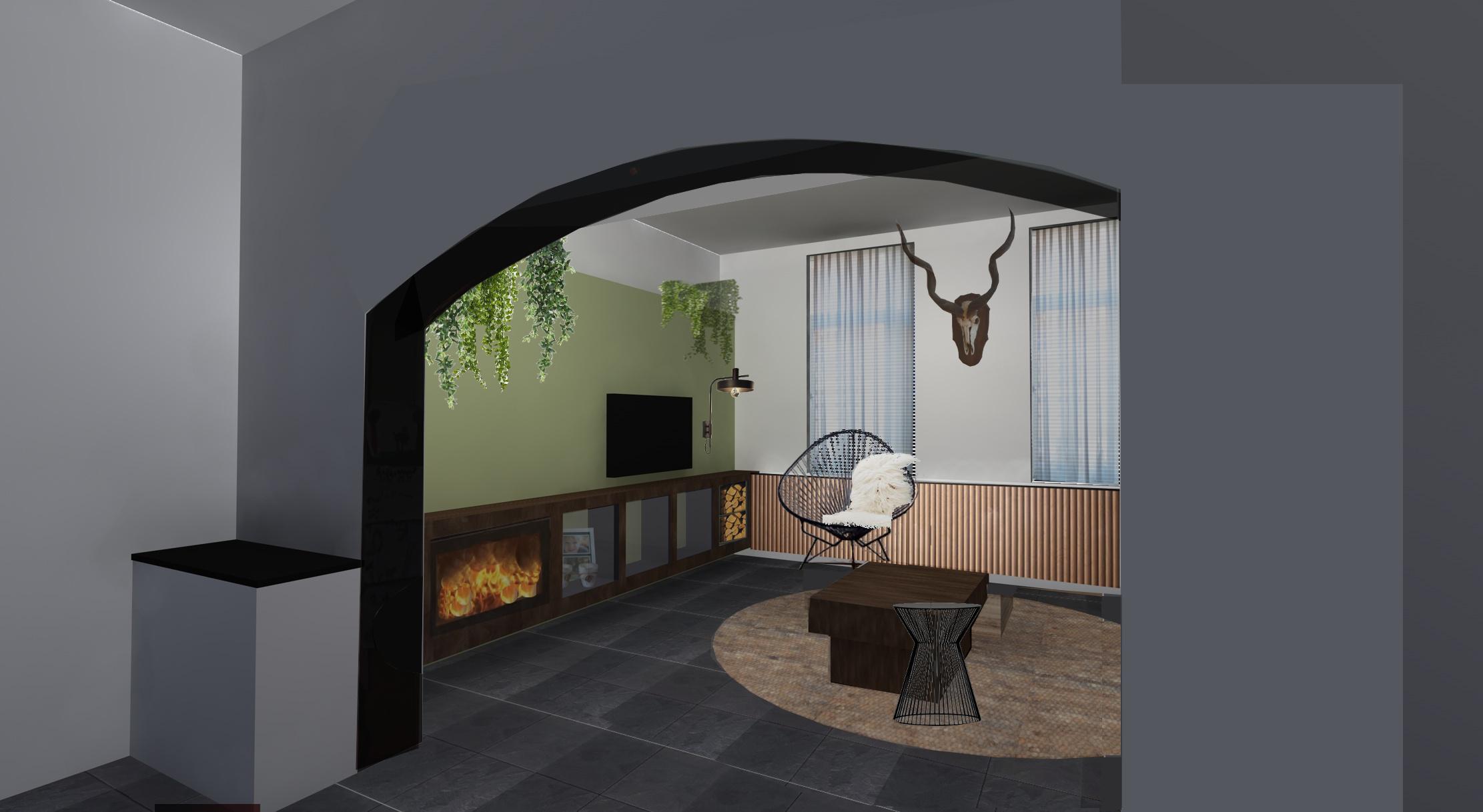 Interieurontwerp – Woonhuis Heerlen